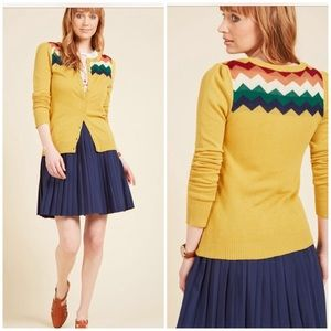 You Heard That Bright ModCloth Cardigan Sweater